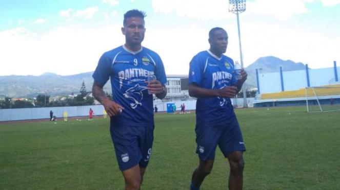 Pemain seleksi Persib Bandung, Wander Luiz dan Joel Vinicius
