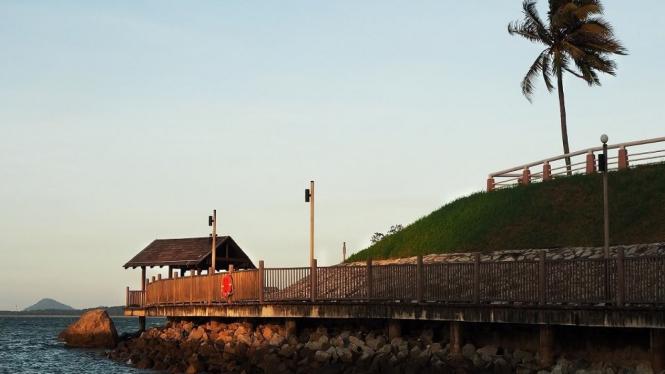 Jelajah Changi Point Coastal Walk Wisata Singapura Anti
