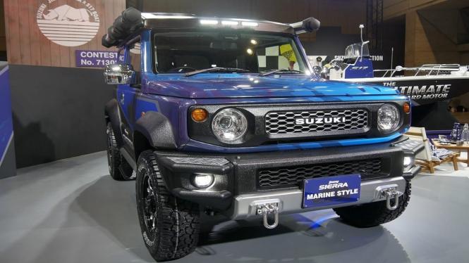Suzuki Jimny Marine Style di Tokyo Auto Salon, Jepang