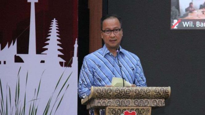 Menteri Perindustrian, Agus Gumiwang Kartasasmita.