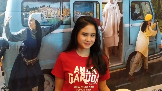 Tissa Biani salah satu aktris dalam film Anak Garuda