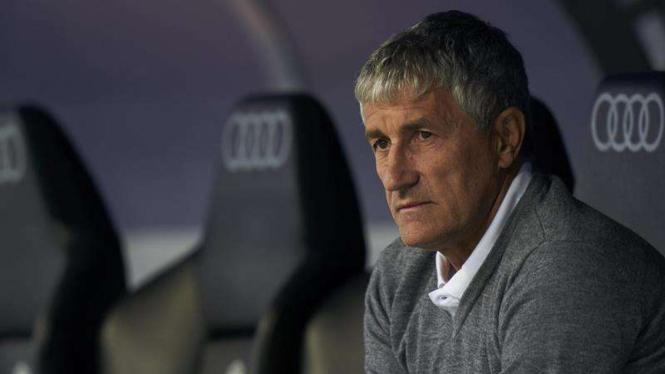 Pelatih baru Barcelona, Quique Setien