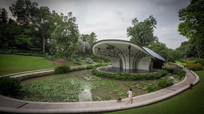 Rekreasi ke Singapore Botanic Gardens