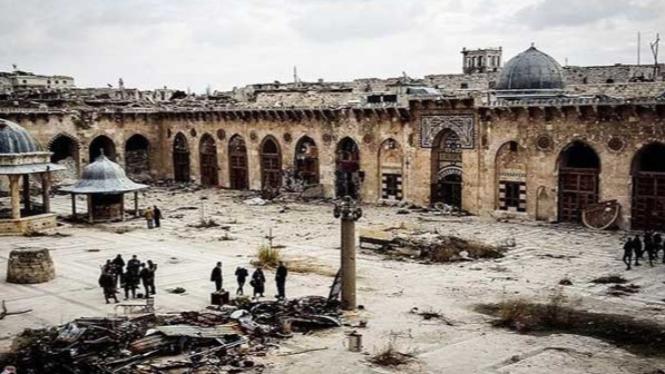 Masjid Agung Aleppo, Suriah