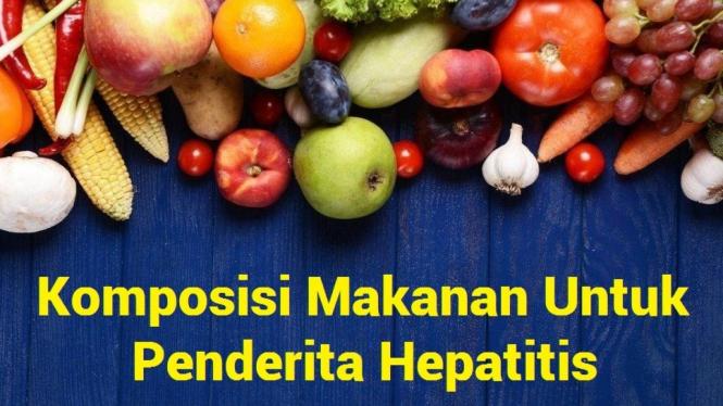 makanan untuk penderita hepatitis