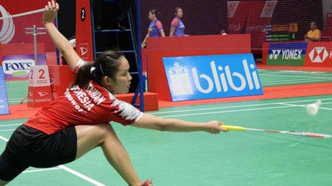 Tunggal putri Indonesia, Ruselli Hartawan.