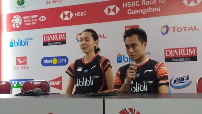 Ganda campuran Indonesia, Hafiz Faizal/Gloria Emanuelle Widjaja.