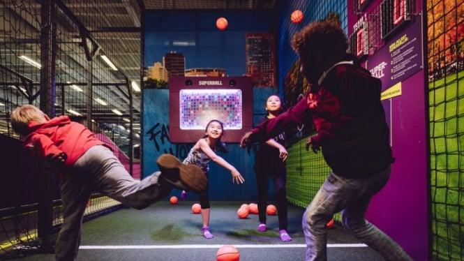 Bermain Sepuasnya di SuperPark, Indoor Playground