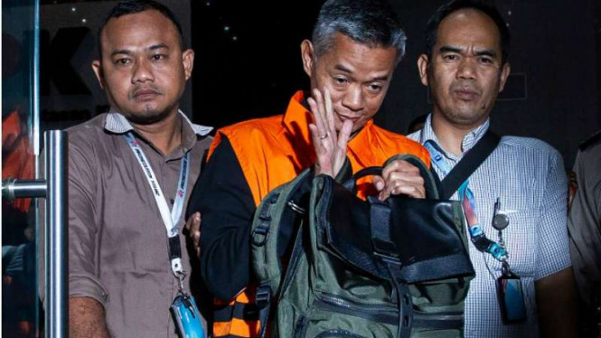 Komisioner non aktif KPU, Wahyu Setiawan ditahan KPK