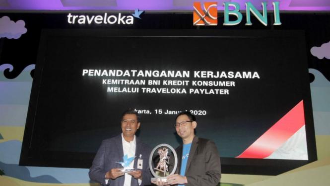 Kerja Sama BNI Kredit Konsumer-Traveloka PayLater