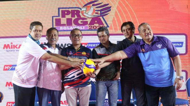 Manajer tim dari 6 klub voli putra hadiri launching ProLiga 2020