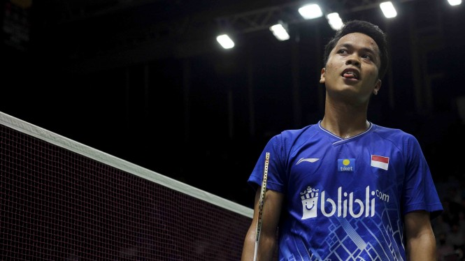 Bahaya, Ginting Jumpa Jagoan Taiwan di BWF World Tour Finals 2020