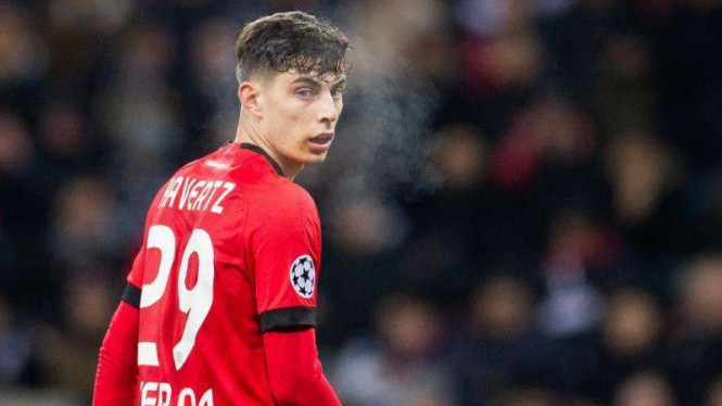 Gelandang Bayer Leverkusen, Kai Havertz