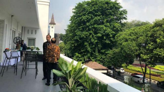 Presiden Joko Widodo di Bappenas.