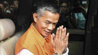 Eks komisioner KPU Wahyu Setiawan ditahan KPK