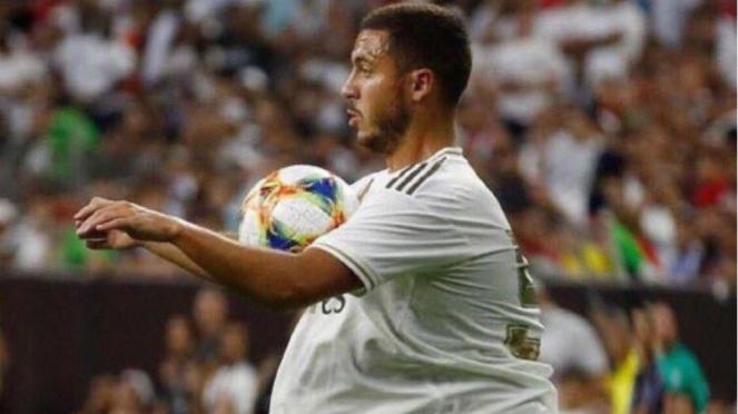 Berat badan Eden Hazard jadi sorotan para netizen