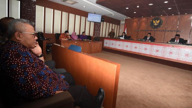 DKPP Gelar Sidang Putusan Komisioner KPU