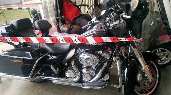 Motor Harley Davidson disita di kasus Jiwasraya