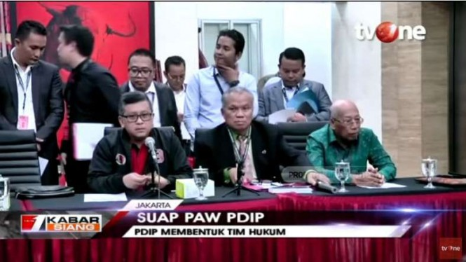 PDIP mengumumkan pembentukan tim hukum.
