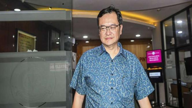 Komisaris PT Hanson International Tbk (MYRX) Benny Tjokrosaputro tersangka kasus Jiwasraya.
