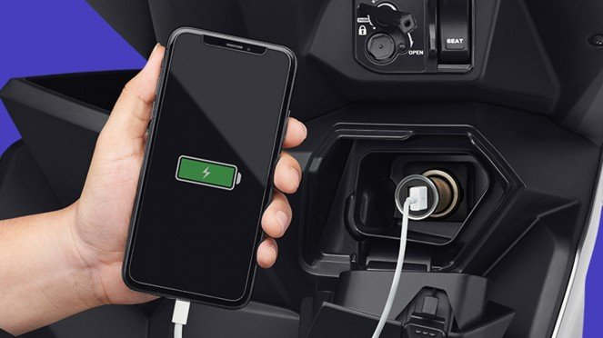 Power charger Honda BeAT 2020