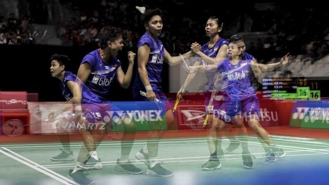 Habisi Ganda Jepang, Greysia/Apriyani ke Semifinal