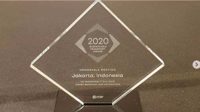 DKI Jakarta raih penghargaan Honorable Mention di ajang STA 2020