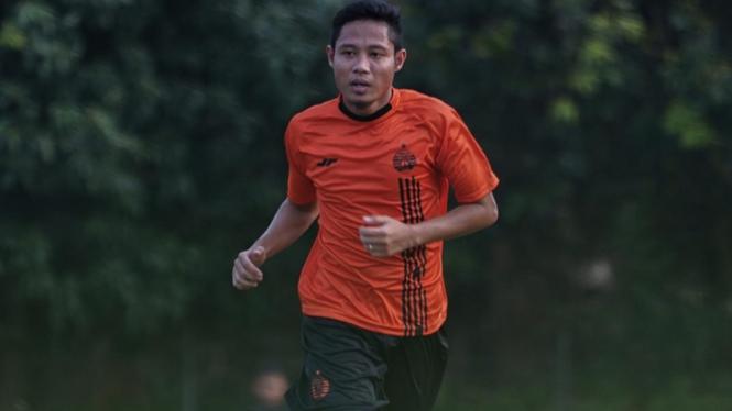 Gelandang Persija Jakarta, Evan Dimas