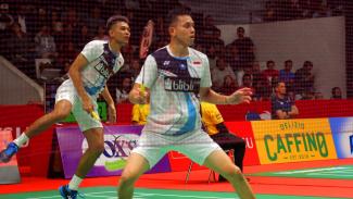 Fajar Alfian dan Muhammad Rian Ardianto di INDONESIA MASTERS 2020