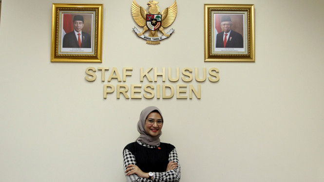 Angkie Yudistia, Staf Khusus Milenial Presiden Joko Widodo
