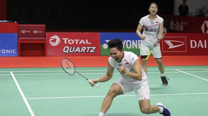 Libas Korsel, Greysia/Apriyani Lolos Final Indonesia Master
