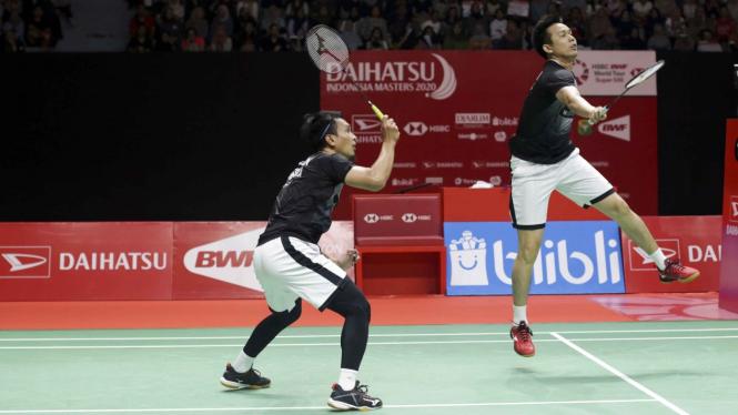 Ganda Putra Indonesia Ahsan/Hendra