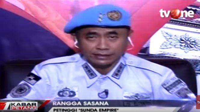 Petinggi Sunda Empire Rangga Sasana