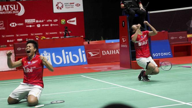 Dramatis Greysia/Apriyani Sabet Gelar Juara Indonesia Master