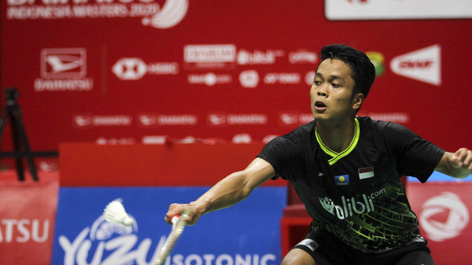 Tunggal Putra Indonesia, Anthony Sinisuka Ginting