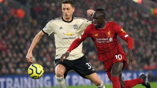 Duel Liverpool vs Manchester United.