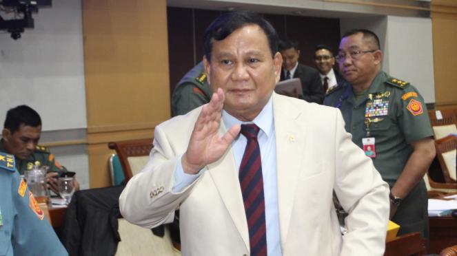 Raker Penguatan Diplomasi di Wilayah Perairan Natuna, Menhan Prabowo Subianto