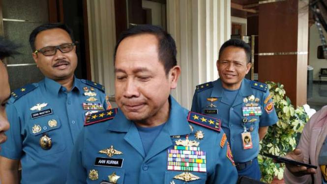 Laksamana Madya (Laksdya) TNI Aan Kurnia ditunjuk sebagai Kepala Bakamla.