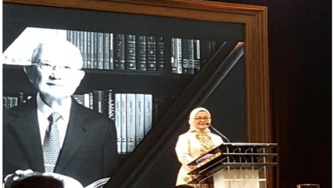 Saat acara Peluncuran buku dr. Boenjamin Setiawan, Ph.D.