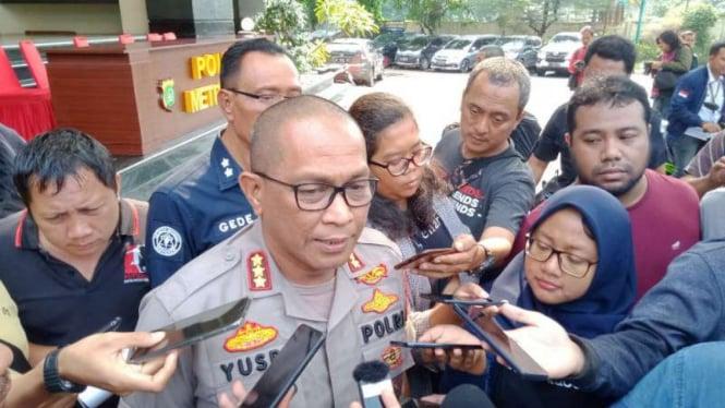 Kepala Bidang Humas Polda Metro Jaya, Komisaris Besar Yusri Yunus.