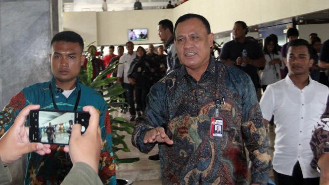 Pimpinan KPK Temui Komisi III DPR
