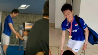 Kevin Sanjaya dan Anak-anak The Daddies.