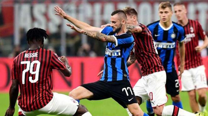 Laga Serie A 2019/2020 antara Lazio kontra Napoli