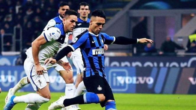 Penyerang Inter Milan, Lautaro Martinez