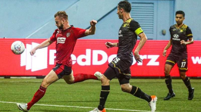 Laga kualifikasi Liga Champions 2020 antara Tampines Rovers vs Bali United