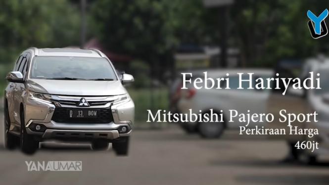 Armada mobil bintang Persib Bandung, Febri Hariyadi