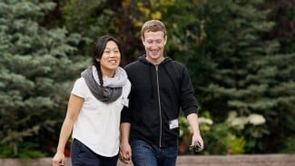 Priscilla Chan dan Mark Zuckerberg.