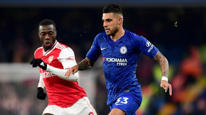 Duel derby London, Chelsea ditahan imbang Arsenal