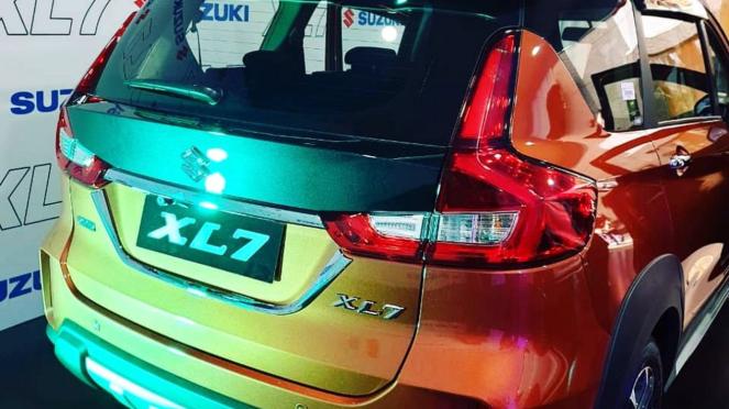 Bocoran Suzuki XL7