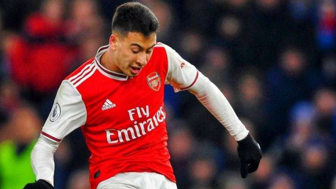 Penyerang Arsenal, Gabriel Martinelli